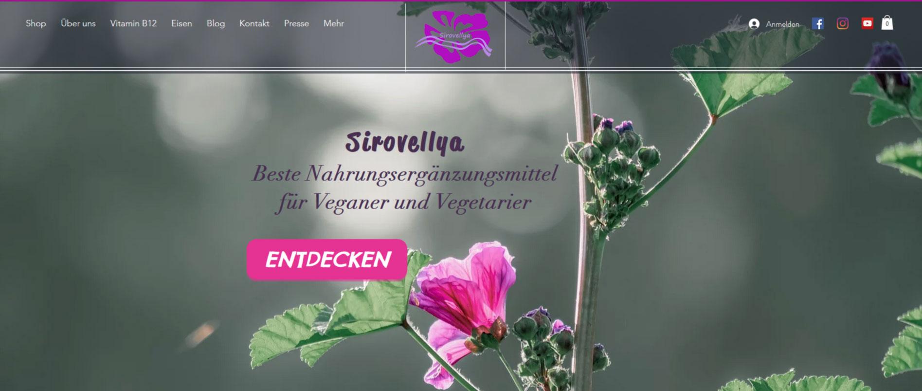 Sirovellya-SEO-Projekt